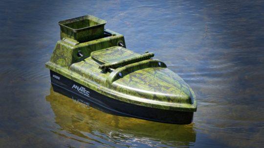 Prévoir plusieurs batteries pour un bateau amorceur Anatec