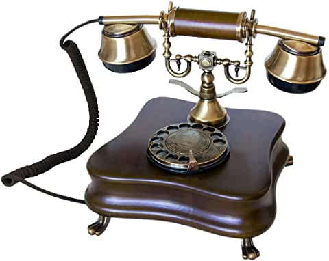 téléphone fixe vintage